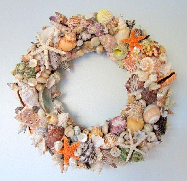 Декоративные венки своими руками из природных материалов Рождественский венок своими руками из природных