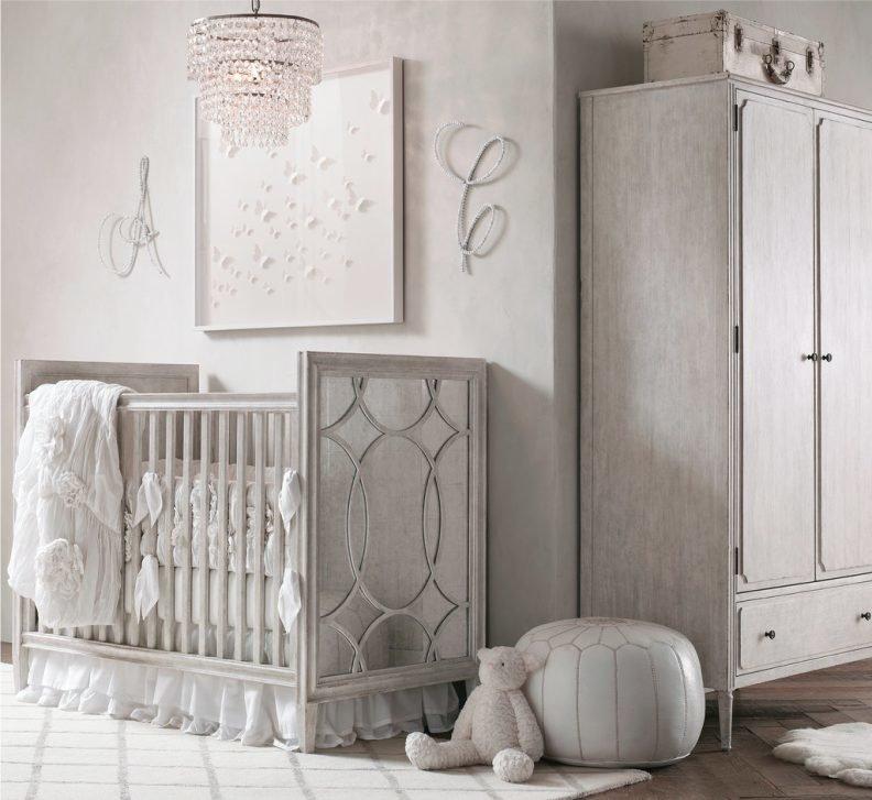 Как оформить интерьер детской в стиле шебби шик для девочки, мальчика или новорожденного? Разбираемся в деталях с помощью 7 дизайн-подсказок и 45 вдохновляющих фото.