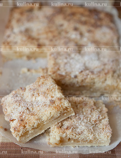 Польский пирог с яблоками - рецепт с фото