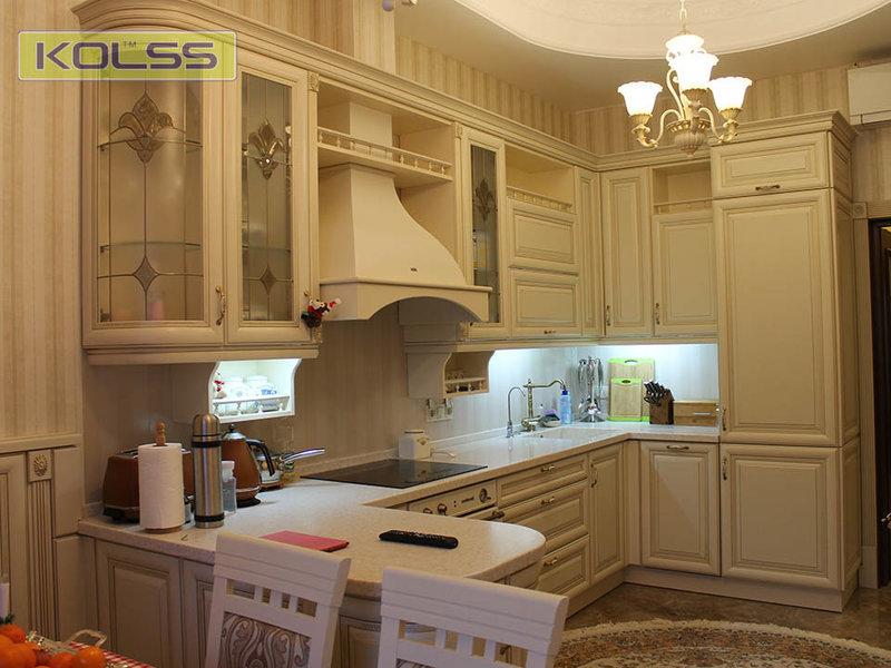 Фотогалерея кухонной мебели Kolss. Дизайн кухни, фотографии от украинского производителя элитной мебели!