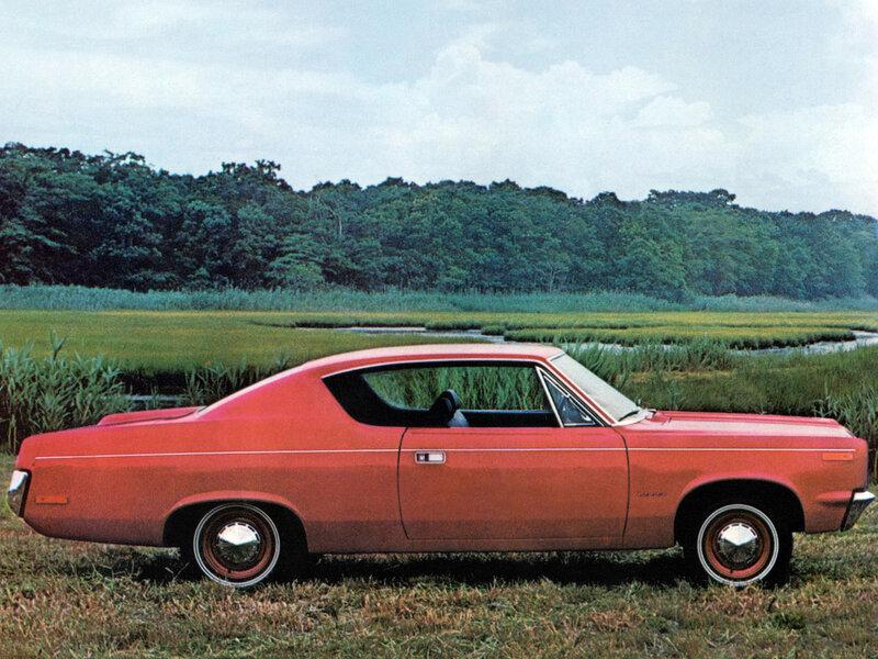 AMC Rebel Hardtop Coupe (7019-7) '1970