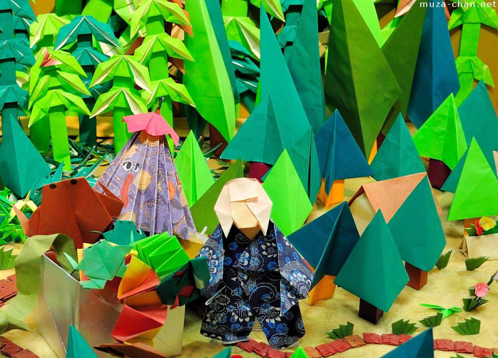 пылкая картинка искусство оригами против своей воли