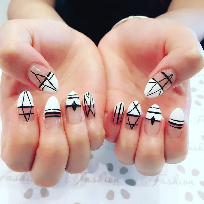 Фото нарощенных ногтей самых красивых