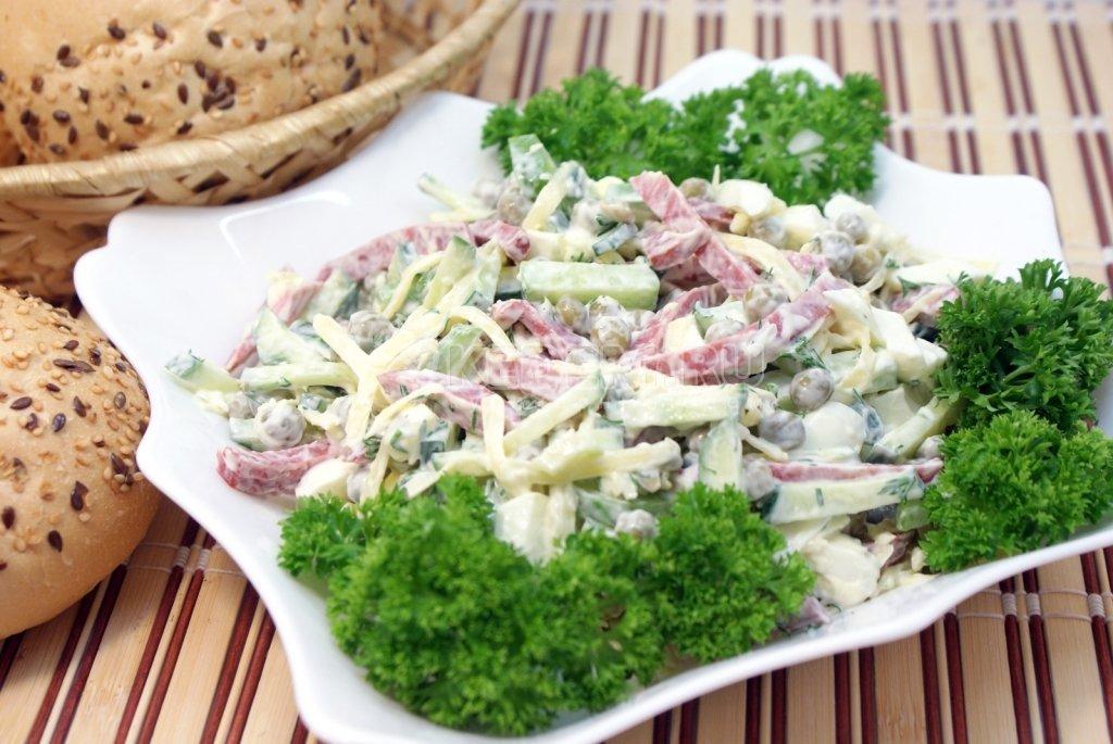 так салат на быструю руку рецепт с фото центре