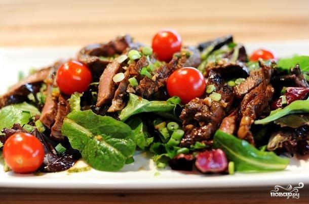 фото месных салатов