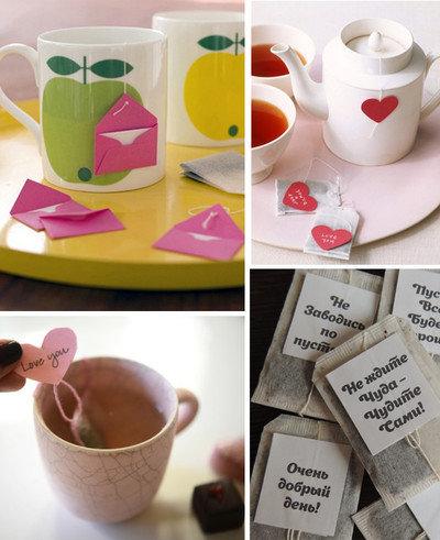 Подарки из чайных пакетиков своими руками 266