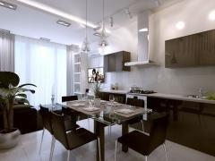 дизайн проектов кухни от студии V&V Interiors