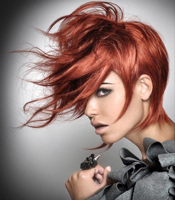 креативные стрижки средних волос в картинках поменять