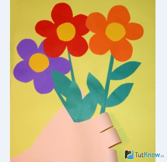выполняется джинсы, открытки с днем 8 марта маме аппликация занятия ручному труду