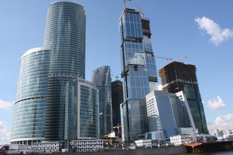 Москва-Сити, хай-тек