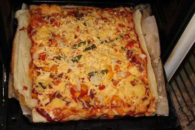 Как приготовить пиццу рецепт с фото