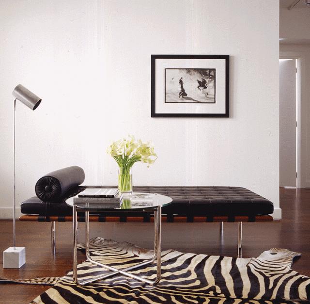 Зебра - модный принт в интерьере | Sweet home