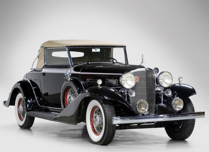 Автомобиль 1933 года LaSalle Convertible Coupe