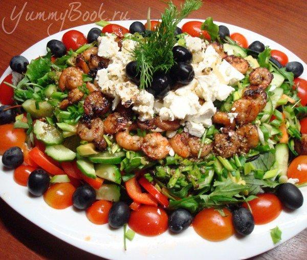 салат с креветками рецепт с отзывами