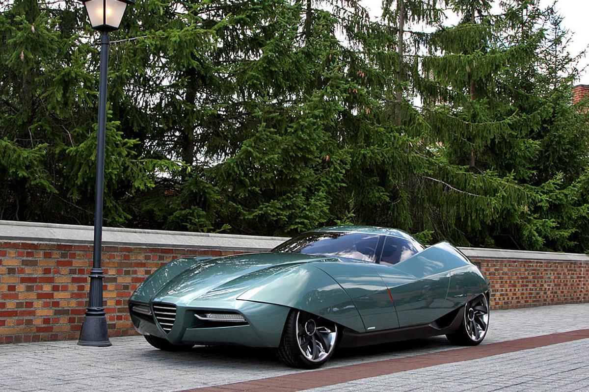 Итальянские концепт-кары Alfa Romeo BAT возникли в результате совместного проекта между Alfa Romeo и итальянским дизайнерским домом Бертоне, начавшимся в 1953 году. Alfa Romeo связалась с гл