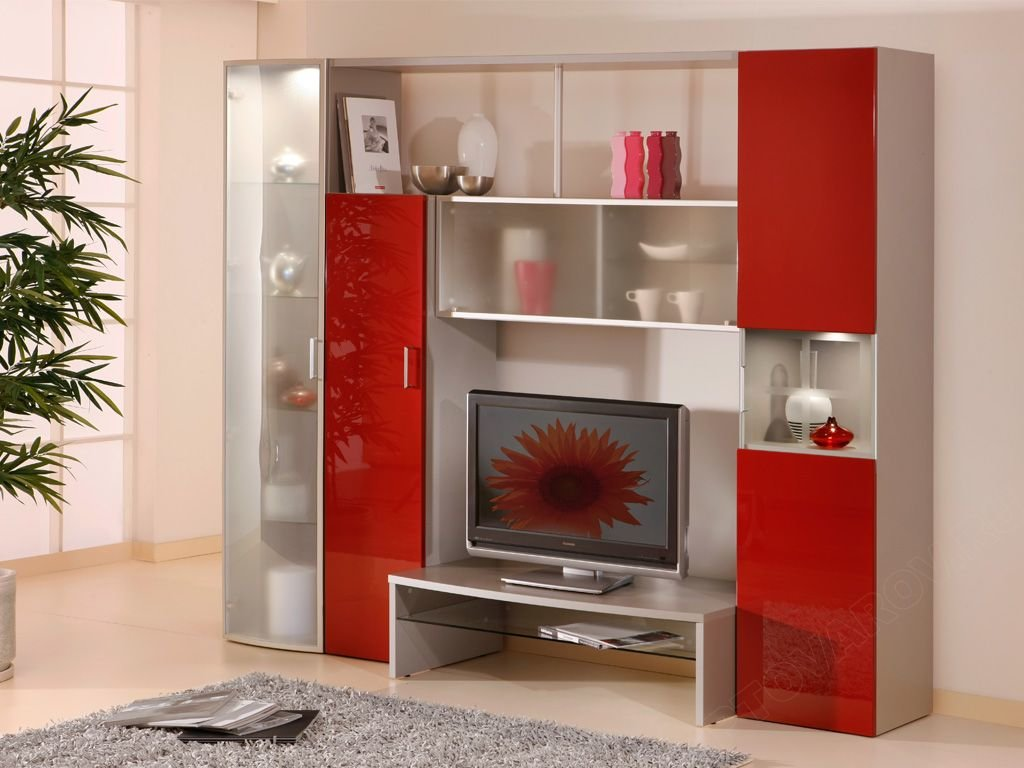 """Красная мебель в гостиной"""" - карточка пользователя krolikkkl."""