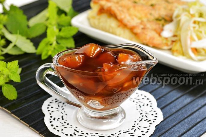 сладкие соусы рецепты с фото