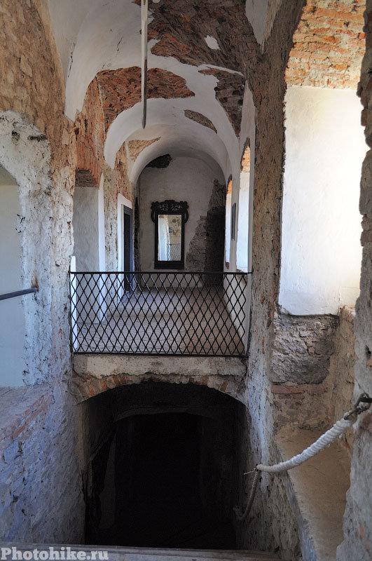 Замок Сент-Миклош внутри
