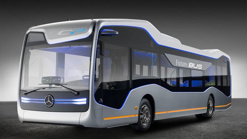 Автобус будущего Mercedes Future Bus - фото - LiveCars.Ru