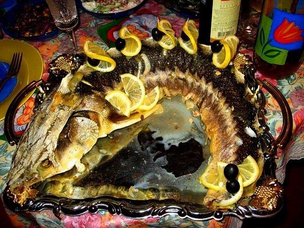 рыба стерлядь в духовке рецепты с фото