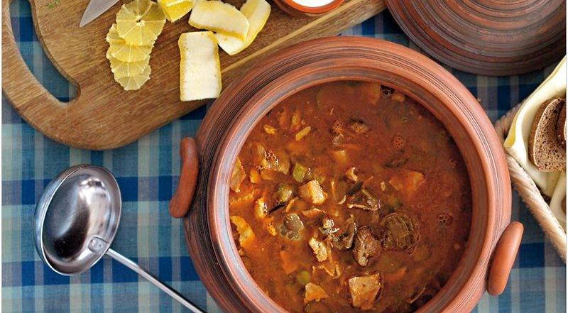 солянка сборная мясная рецепт с фото пошагово