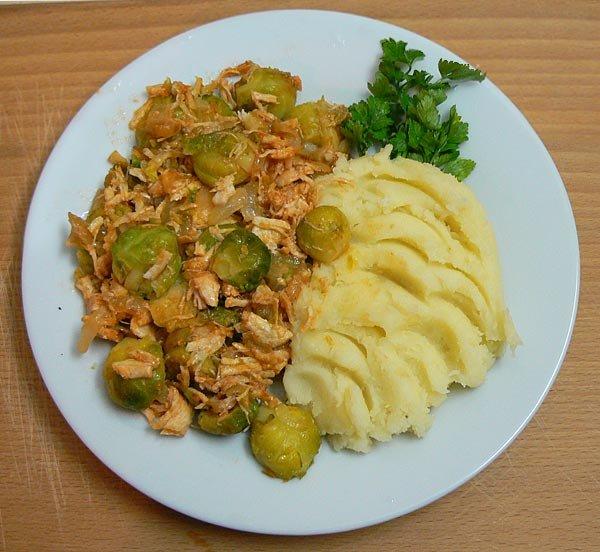 как готовить брюссельскую капусту рецепты самый простой рецепт
