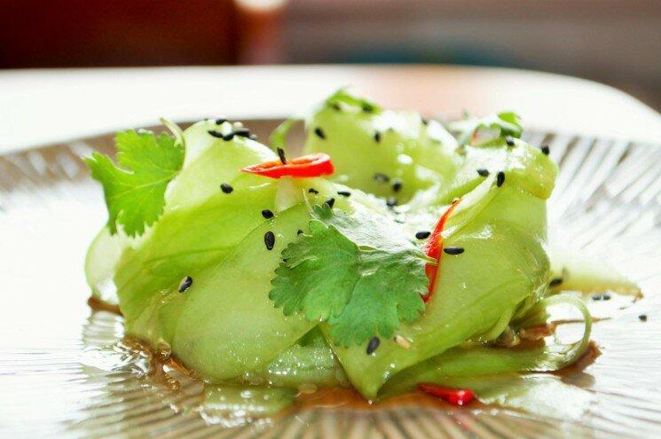 Огуречный салат в тайском стиле