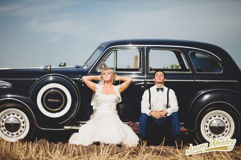 Buick на свадьбу