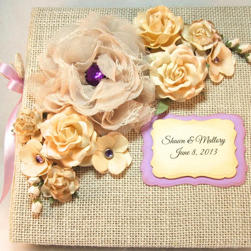 Цветы для открытки из ткани