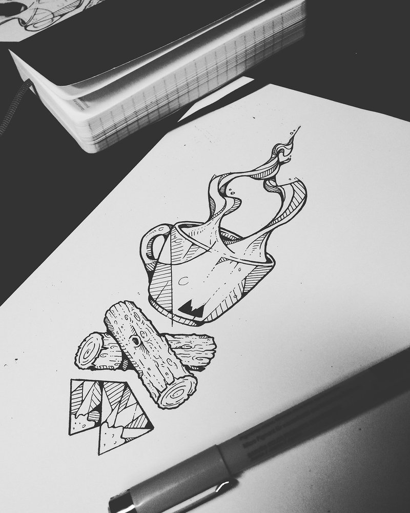Tattoo project : Twin Peaks on Behance