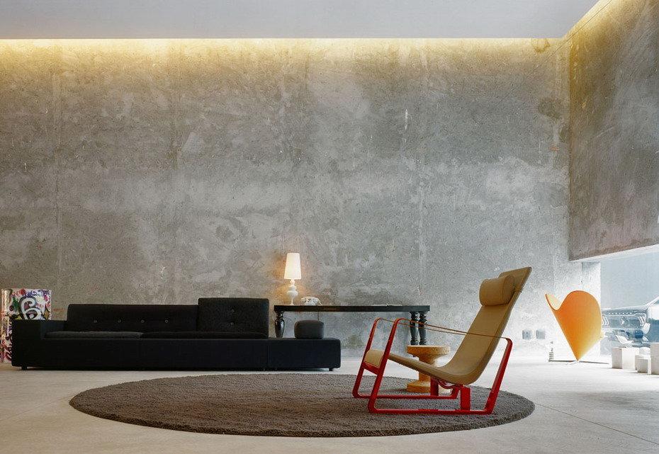 покрытие стен под бетон