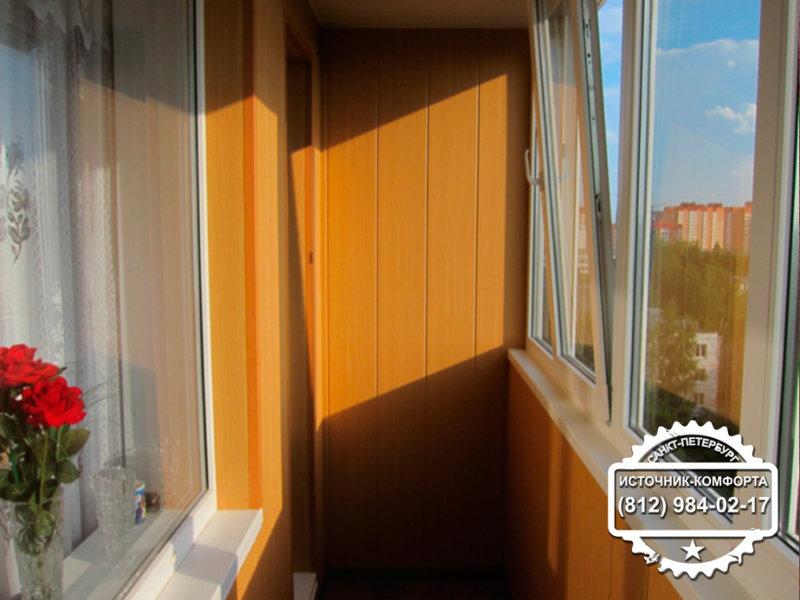 Преображаем дизайн балкона в хрущевке - вагон-бытовка.