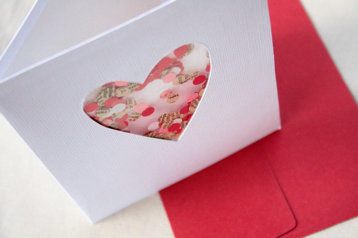 Креативная открытка влюбленных, своими