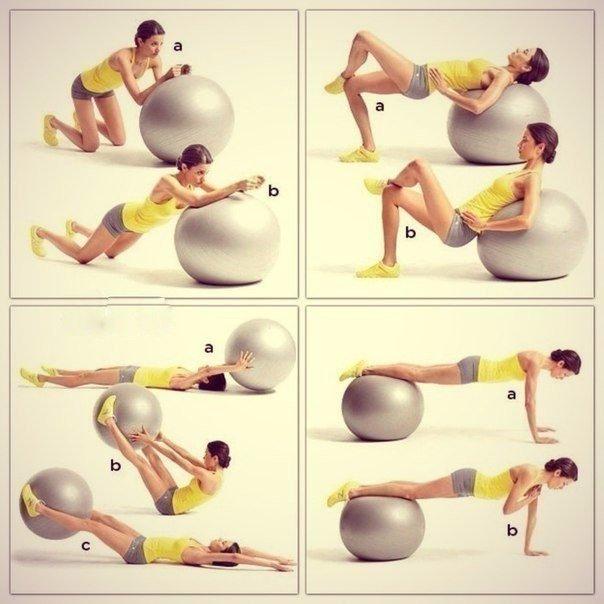 новую упражнения фитнеса для начинающих в картинках этом