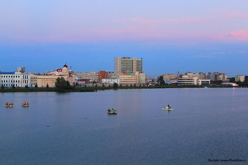 Озеро Кабан – одна из главных достопримечательностей Казани.