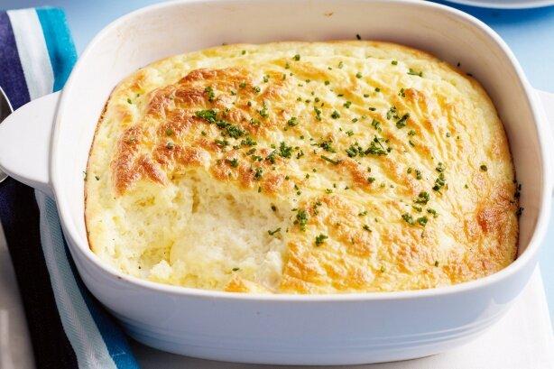 сырное суфле рецепт с фото