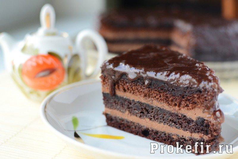 Торт прага простой рецепт с фото пошагово