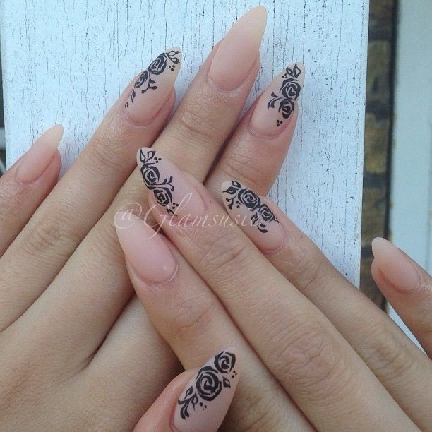 Дизайн ногтей формы