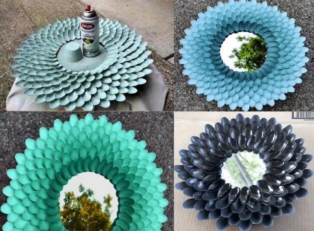 поделки из пластиковой посуды своими руками фото