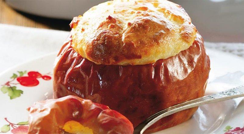 Яблоки с творогом. Пошаговый рецепт с фото, удобный поиск рецептов на Gastronom.ru