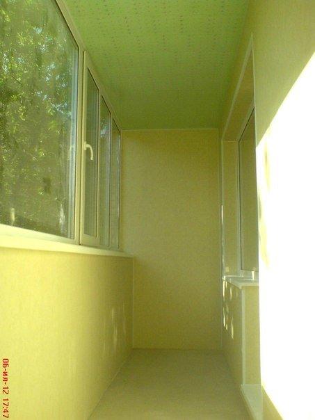 Профессиональная внутренняя отделка и наружная обшивка балко.