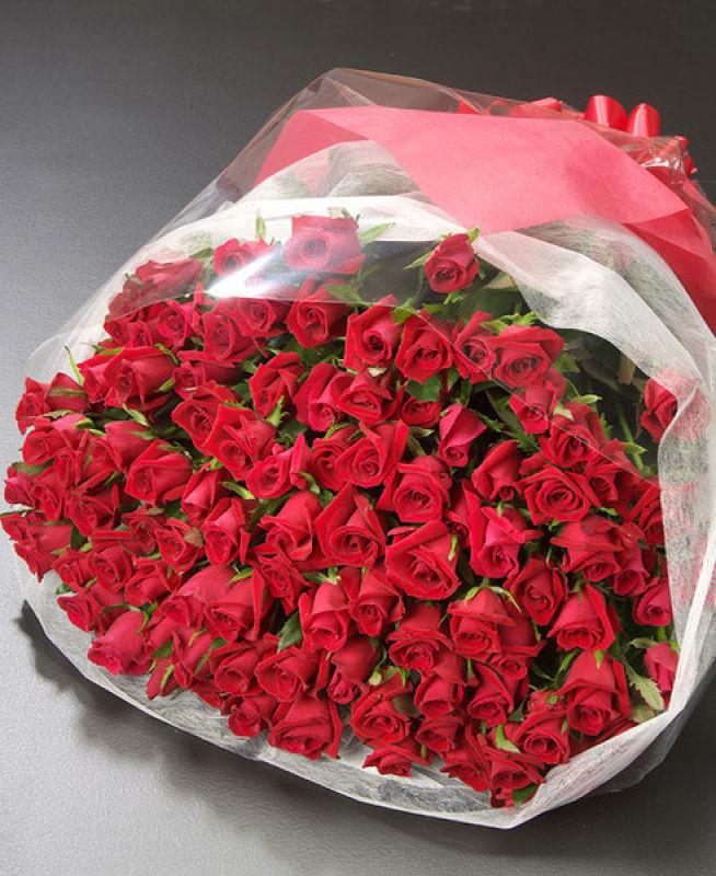 Букет роз на день рождения маме — 9