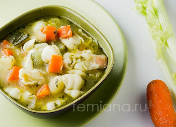 простой рецепт супа минестроне