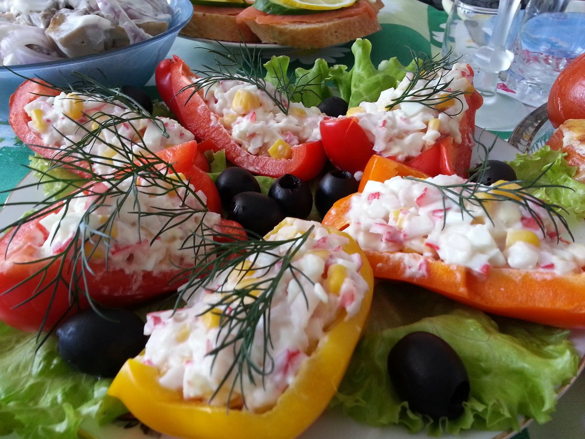 можете мир салатов и закусок с фото этого
