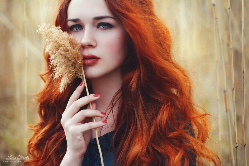 фотосет рыжей красавицы