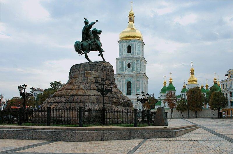 Sights of Kiev Площади. 18 достопримечательностей