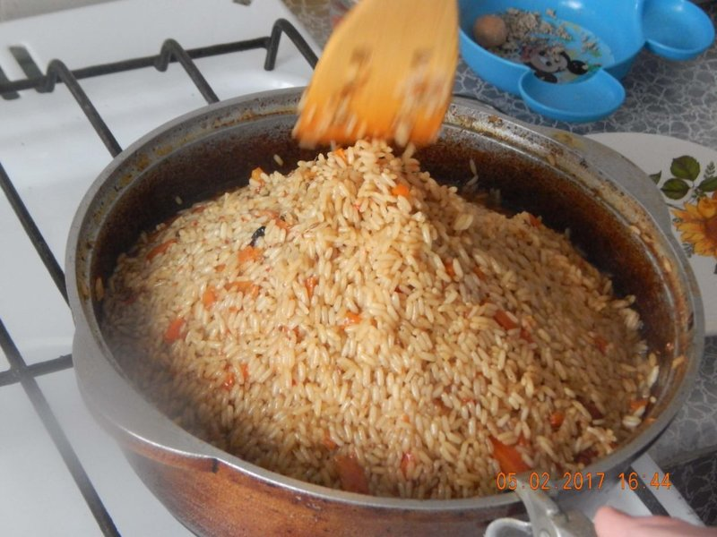 Плов из свинины в домашних условиях рецепт приготовления