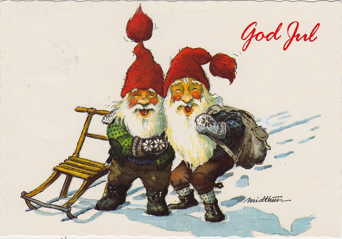 Норвегия открытки