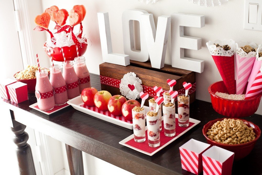 valentines day food ideas for a party - 1000×667