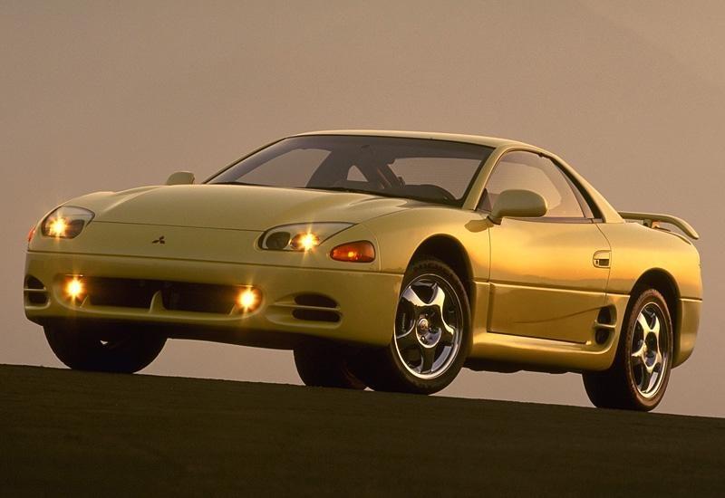 Желтый Mitsubishi 3000GT